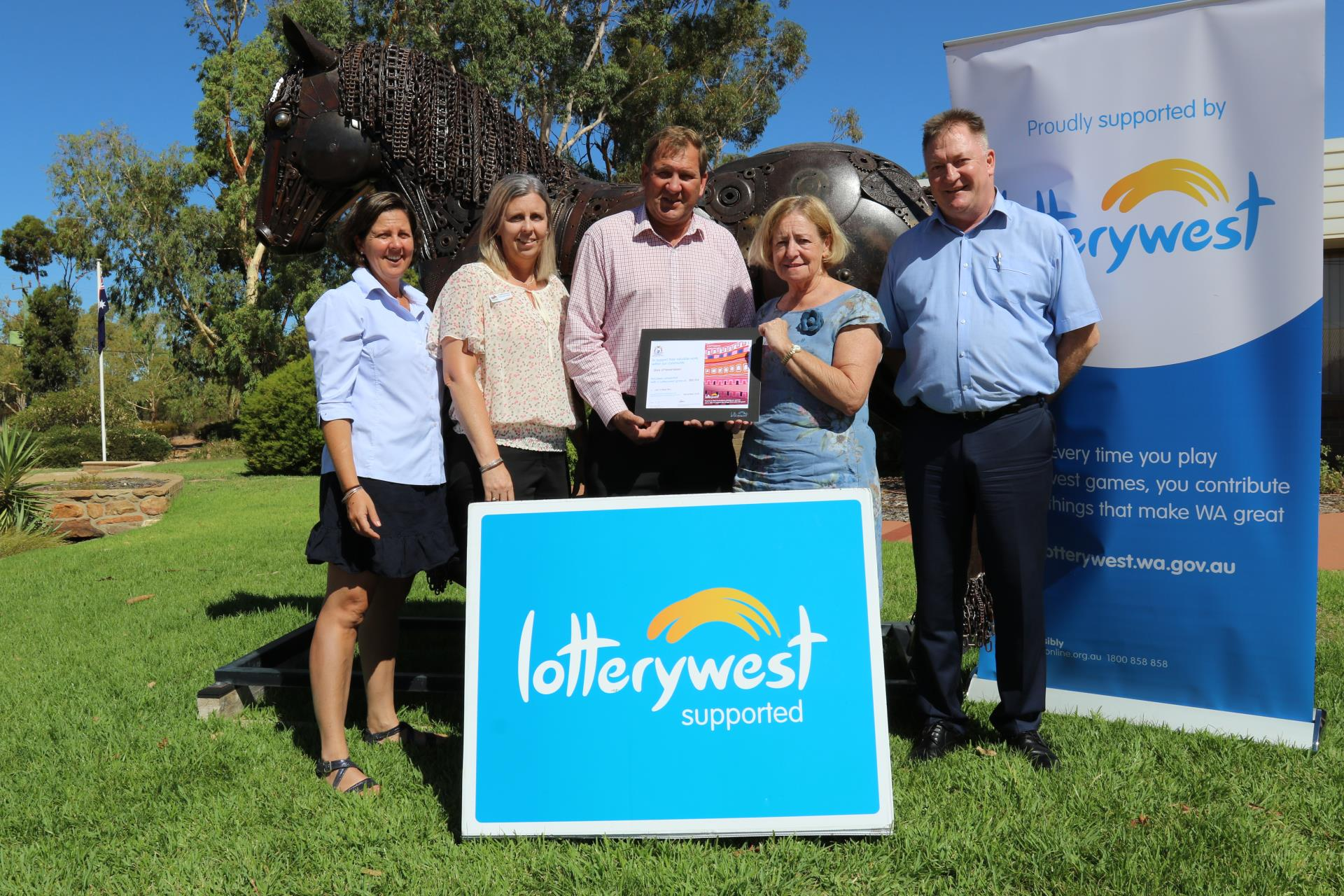Lotterywest Grant to Recognise Our History