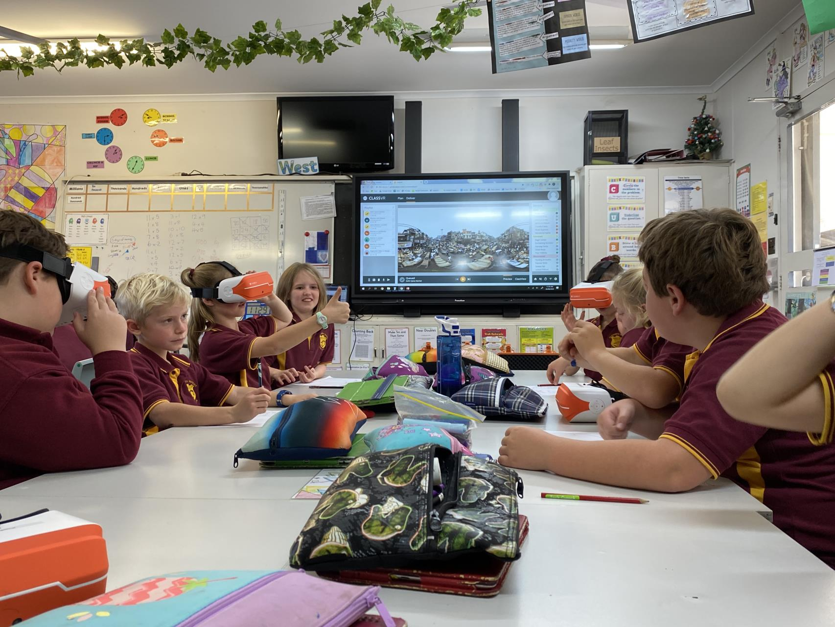 Students and the wider community benefit through the Shire of Narembeen
